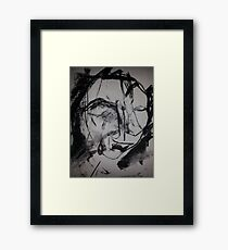 Face of Ictus Framed Print