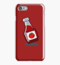 Cartoon Ketchup Bottle iPhone Case/Skin