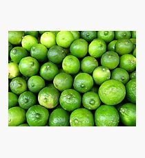 Time for Lime-aid! Photographic Print