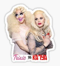 Trixie Mattel And Katya Sticker