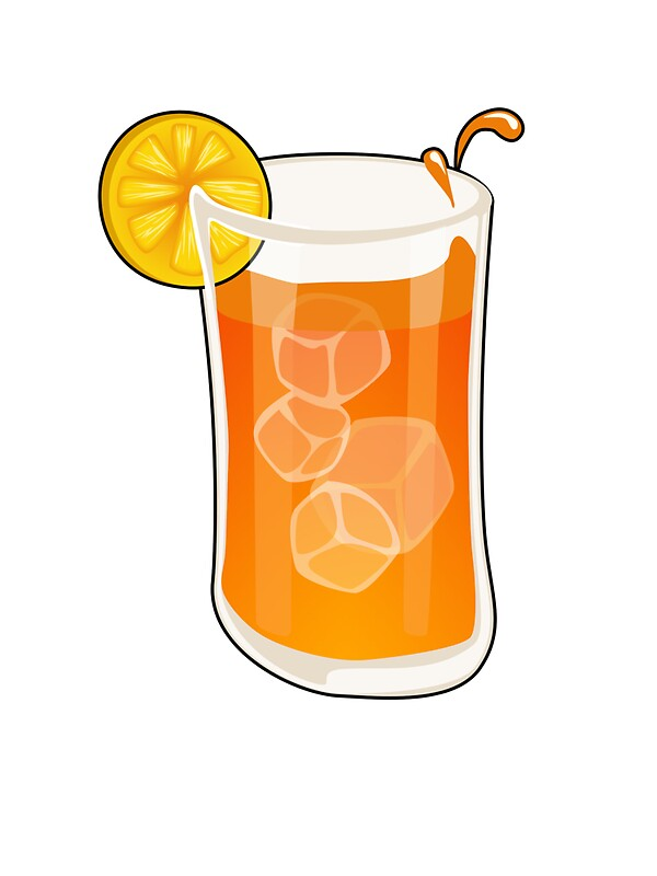 """Cartoon Ice tea"" Stickers by mdkgraphics 