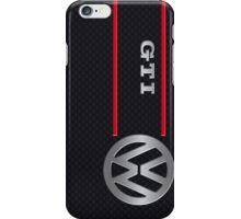 GTI black iPhone Case/Skin