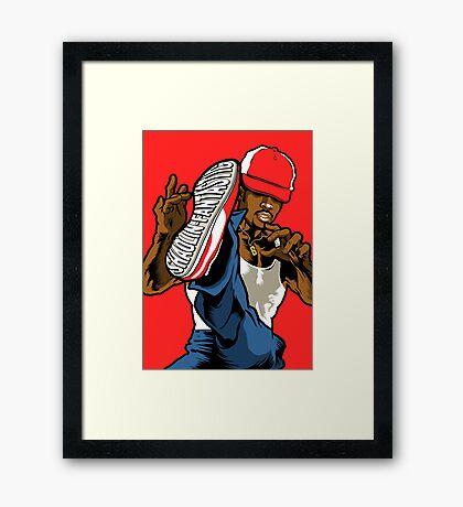 Shaolin Fantastic Framed Print
