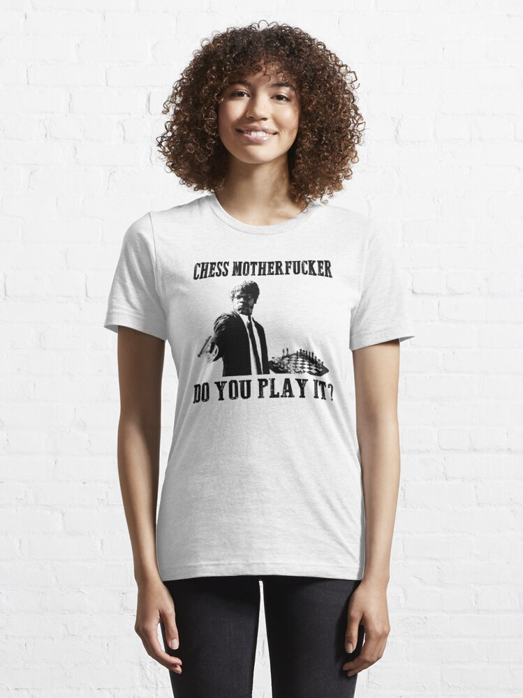 Alternate view of Funny Rude Chess T Shirt Essential T-Shirt