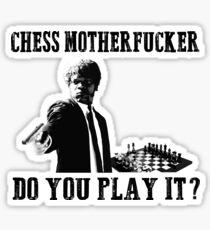 Funny Rude Chess T Shirt Sticker