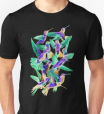 Hummingbird Dance in Sharpie (Inversion Edition) Unisex T-Shirt