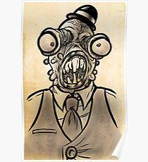 Horrible Fish Man Poster