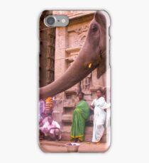 Blessing from Ganapathi, Arunachaleswar temple iPhone Case/Skin