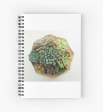 Maui Succulent Designs Spiral Notebook