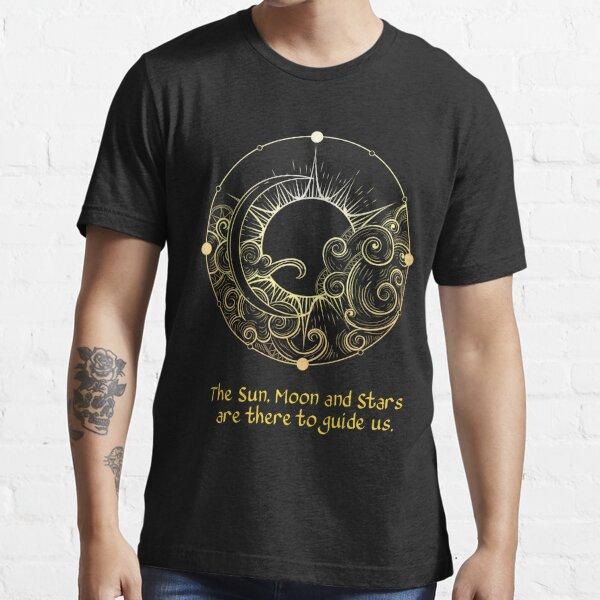 Sun Moon Stars Planets Astronomy Galaxy Space Milky WayT-Shirt Essential T-Shirt
