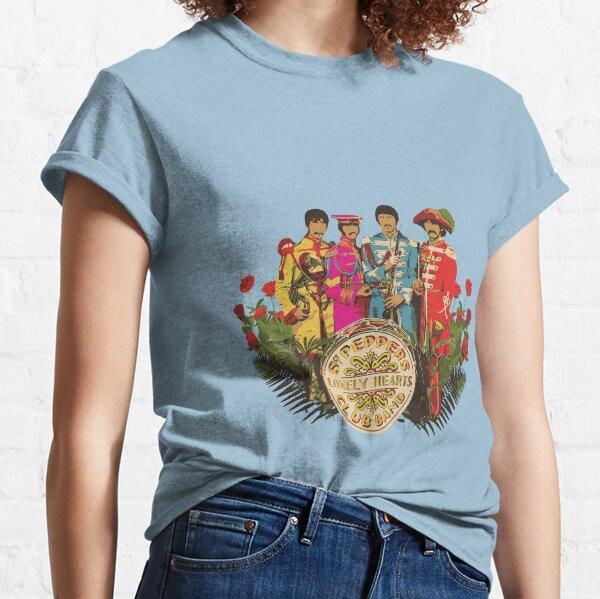 Sergeant Pepper - Minimalistisches Albumcover Classic T-Shirt