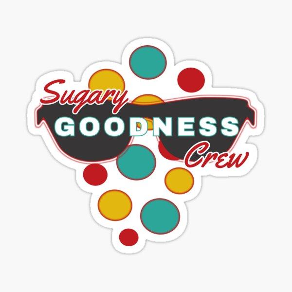 Sugary Goodness Crew & Colorful Dot Accessories - Fun & Expressive Sticker