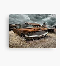 Abandoned 1960 Imperial Canvas Print