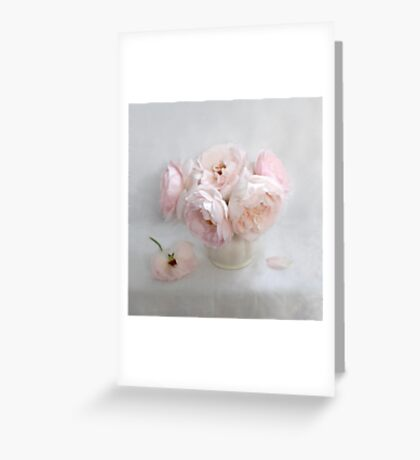 Bouquet of Pastel June Roses #2 Greeting Card