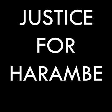Justicia para Harambe de akirafucker