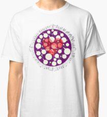 Broken Heart Ticks in Purple Classic T-Shirt