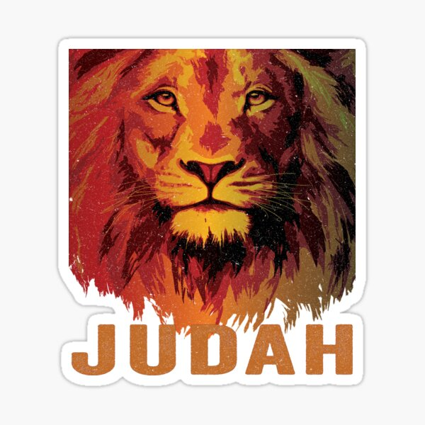 Lion of Judah Tribe Hebrew Israelite Messianic Sticker