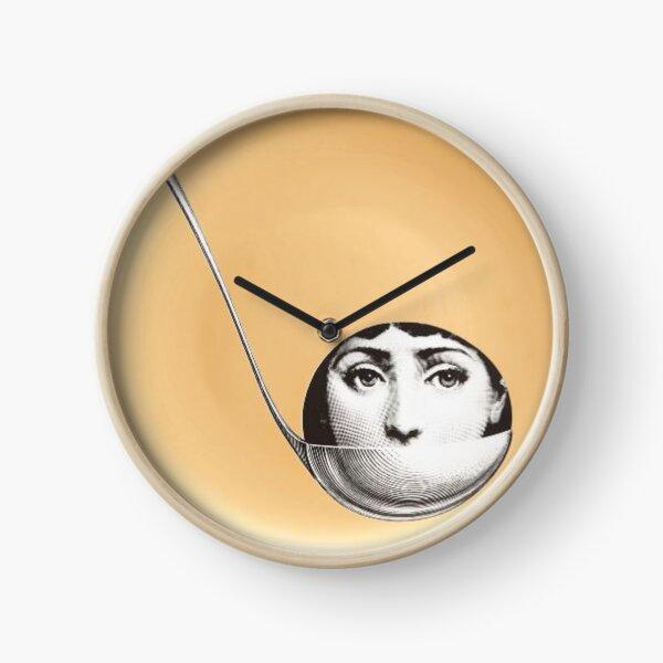 Fornasetti Gold Face Clock