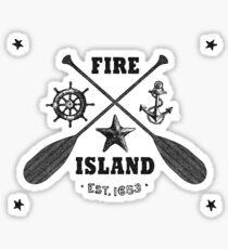 Fire Island Sticker