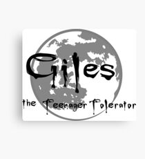 Giles the Teenager Tolerator Canvas Print
