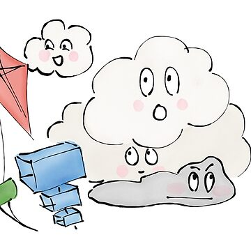 Kite Day for the Cloud Buddies by clairesalcedo
