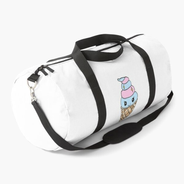 Kawaii Aesthetic Cotton Candy Ice Cream Duffle Bag