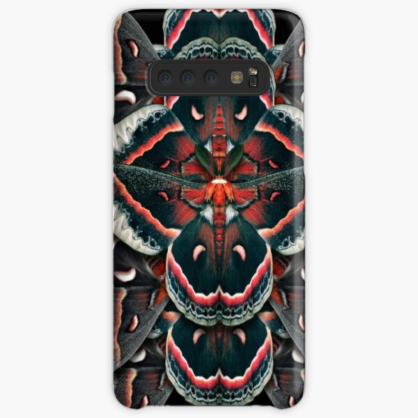 Cecropia Moth Mandala - Symmetrical Samsung Galaxy Snap Case