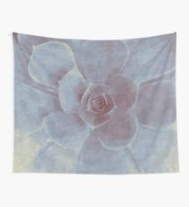 Watercolor Succulent Wall Tapestry