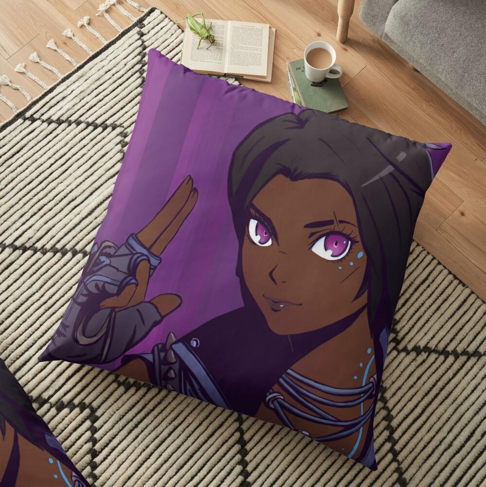 Amara of Borderlands Floor Pillow