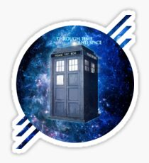 THROUGH TIME AND SPACE 3  Sticker
