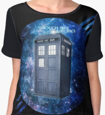 THROUGH TIME AND SPACE 3  Women's Chiffon Top