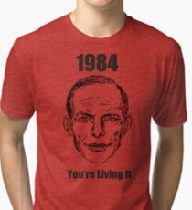 1984 - You're Living It Tri-blend T-Shirt