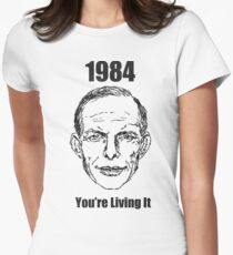 1984 - You're Living It Womens Fitted T-Shirt