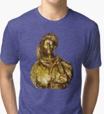 Damsel in Gold Tri-blend T-Shirt
