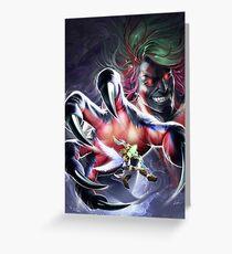 Kid Icarus: Uprising - Pit vs. Hades Greeting Card