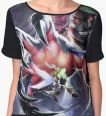 Kid Icarus: Uprising - Pit vs. Hades Women's Chiffon Top