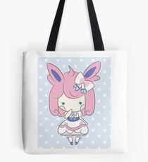 Chibi Lolita Sylveon Tote Bag