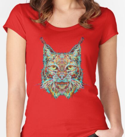 Lynx Fitted Scoop T-Shirt