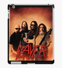 Kar05 SLAYER With ANTHRAX & Death Angel Tour 2016 iPad Case/Skin