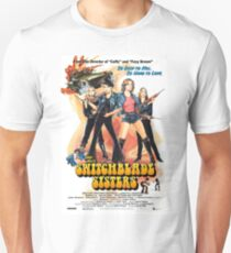 Switchblade Sisters Alt 1 (Blue) T-Shirt