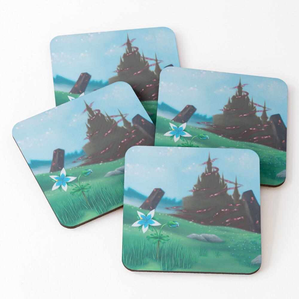 Silent Princess Coasters (Set of 4)