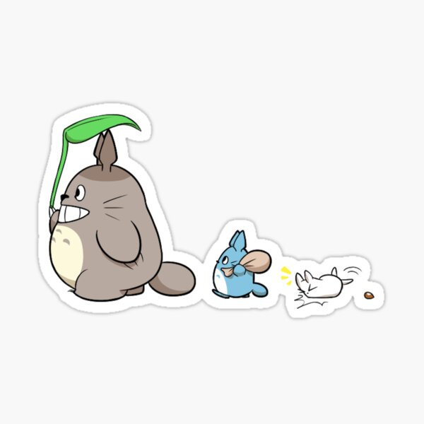 Three Friends Sticker