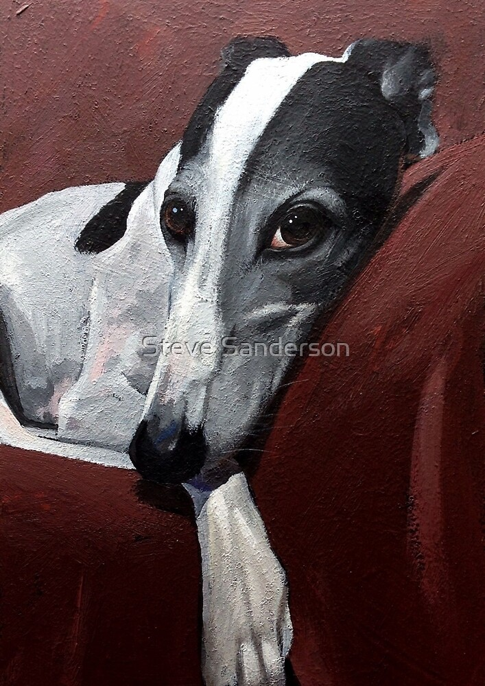Quot Greyhound Quot By Steve Sanderson Redbubble