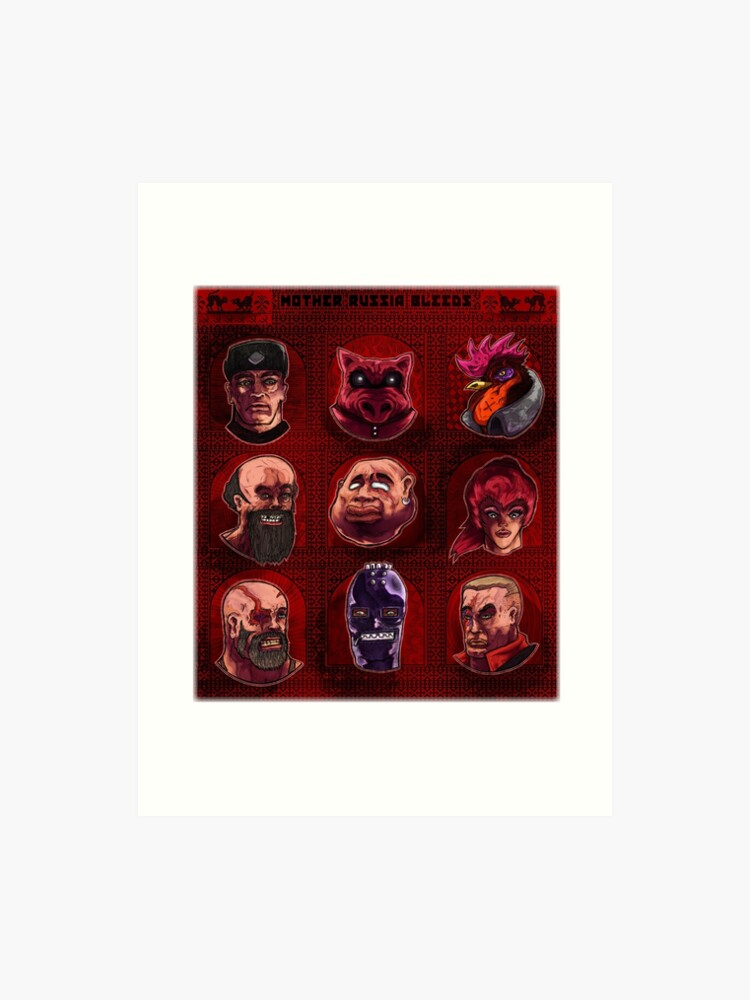 Mother Russia Bleeds | Characters | Art Print
