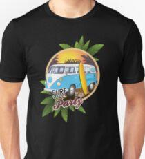 Volkswagen Camper - Surf Beach Party T-Shirt