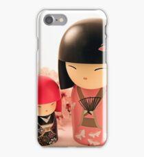 Toki and Michiko in Pink iPhone Case/Skin