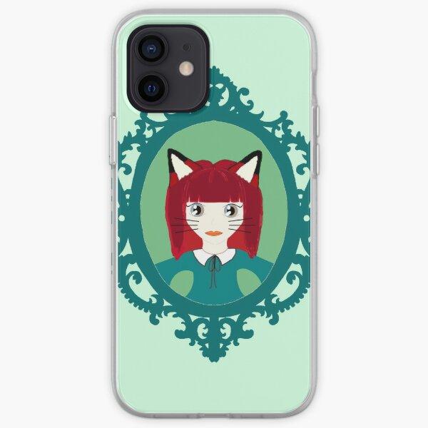 Kawaii Fox Cosplay Girl iPhone Soft Case
