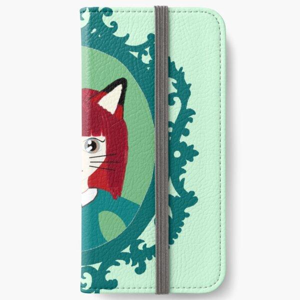 Kawaii Fox Cosplay Girl iPhone Wallet