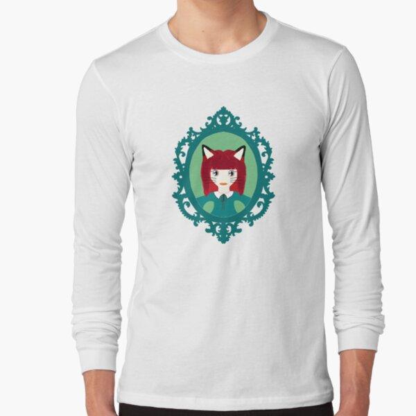 Kawaii Fox Cosplay Girl Long Sleeve T-Shirt