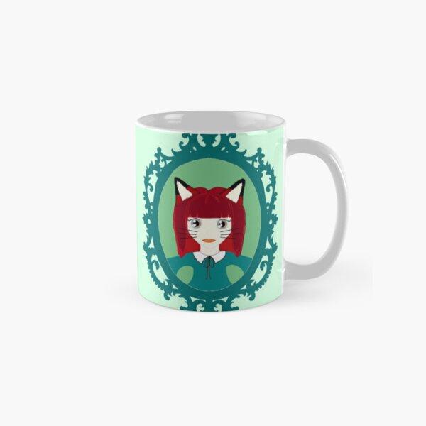 Kawaii Fox Cosplay Girl Classic Mug